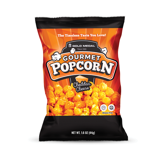 Picture of Cheddar cheese corn small 1.6oz grab & go size 3717