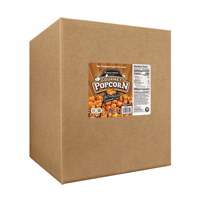 Picture of Old Fashioned Caramel Corn 18lb. Box 3729