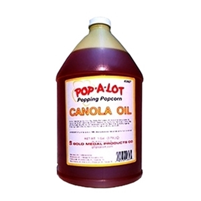 Picture of Pop-A-Lot Canola Oil 2657 4x1 gallon