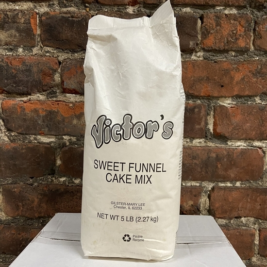 Picture of Victors Sweet Funnel Cake Mix 6/5lb.
